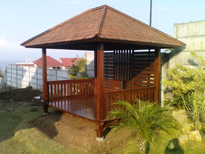 jual gazebo rumah kayu alam selaras 5 jual rumah jual